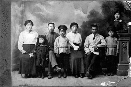 Ethnic Koreans in Khabarovsk, Russia, early 20th century