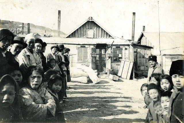 Korean village near Vladivostok, Russia, at the beginning of the 20th century