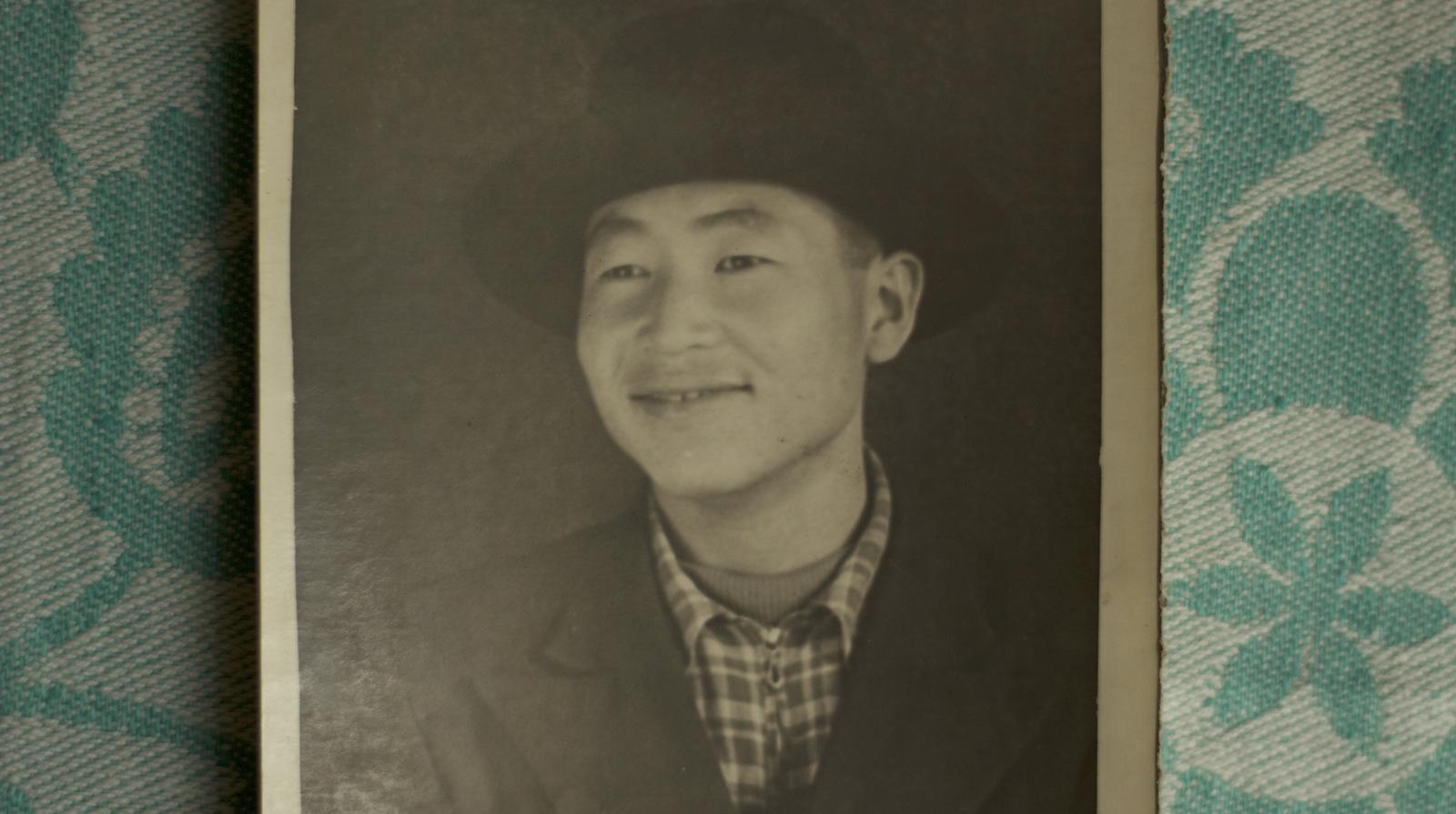 My then young grandfather Kim Da Gir