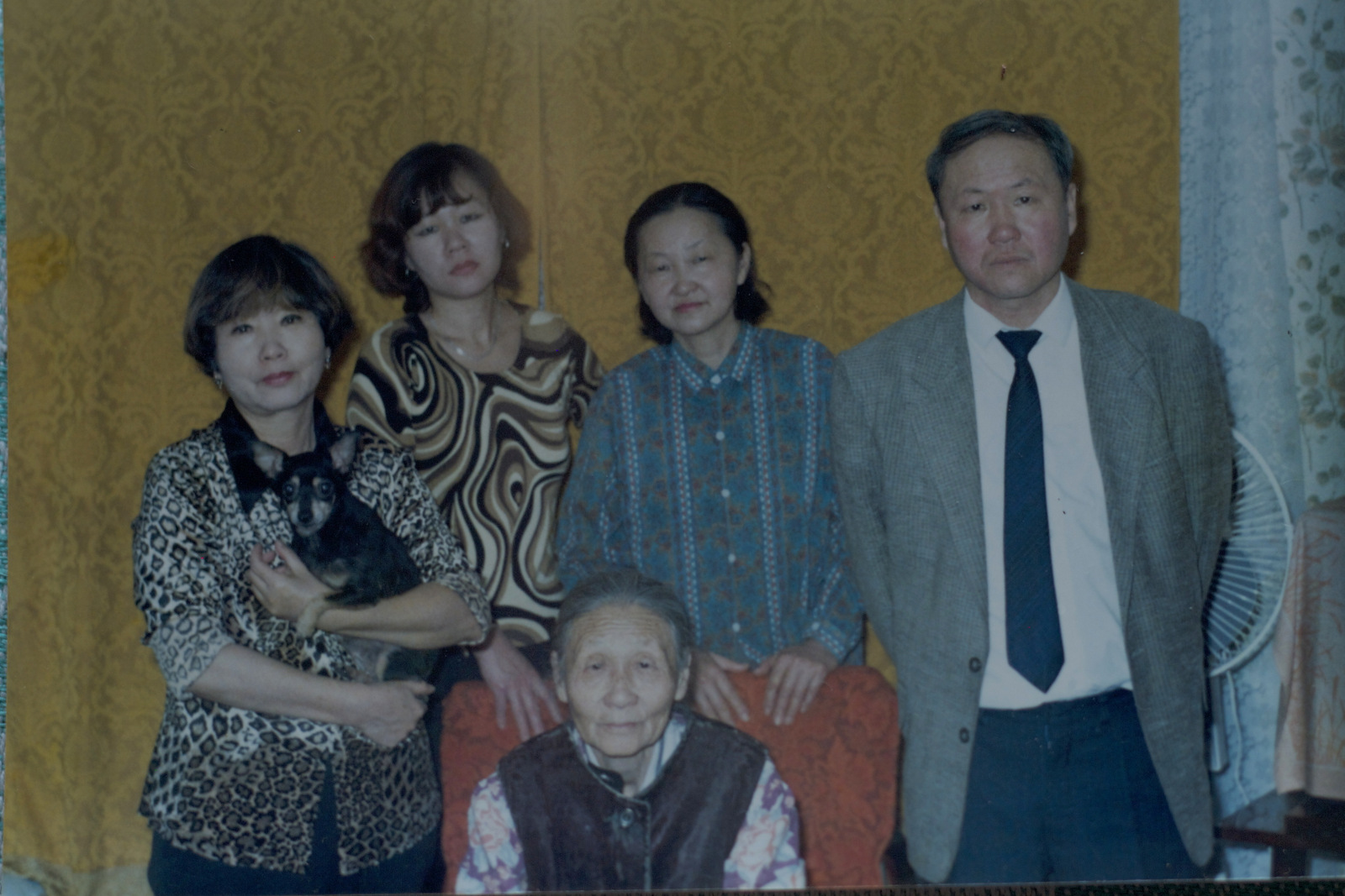 Galina Lee with her children -Nikolay Ten and his three sisters.