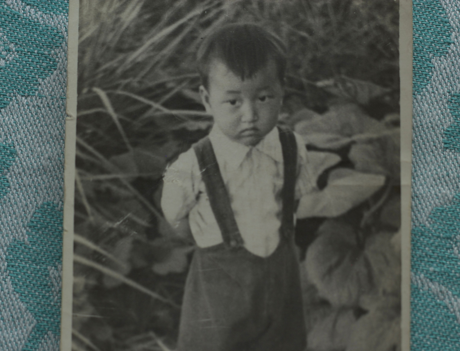 Alexey's first son Leonid - the only photographic memory left of Alexey Ten.