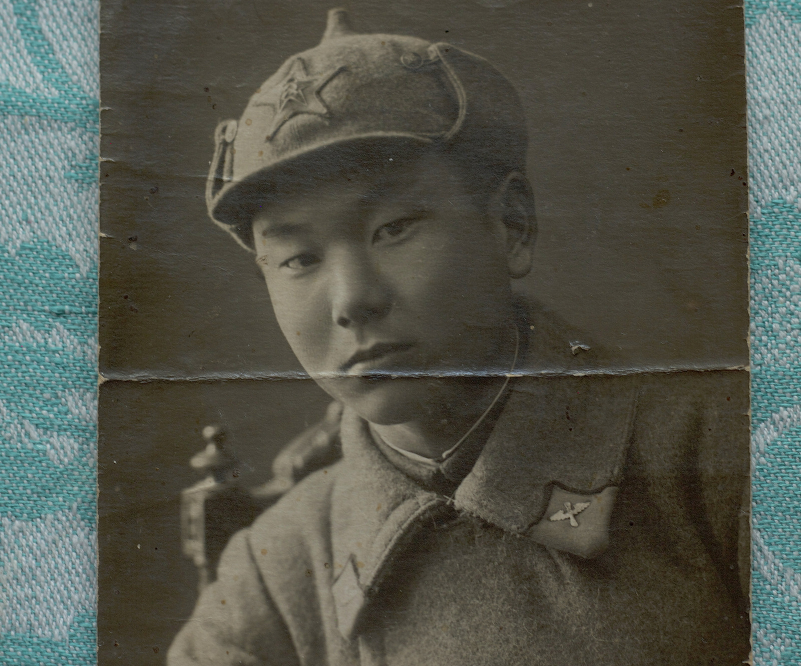 Fedor Lee in the Soviet army